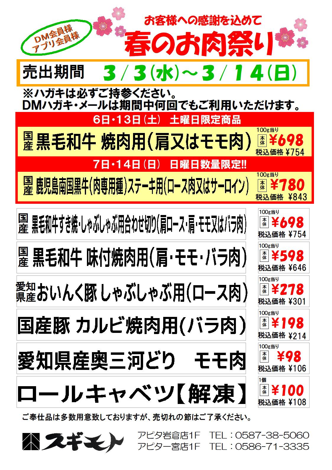 岩倉一宮DM